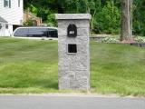 hardscape pilar mailbox